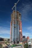丹佛, CO,美国- 2016年10月8日:合流高层skysc 免版税库存照片