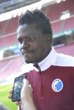 丹尼尔AMARTLEY_FCK足球运动员 免版税库存照片