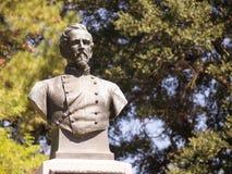 丹尼尔W亚当斯南北战争纪念碑进贡 免版税图库摄影