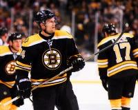 丹尼斯赛登贝格,防守队员,波士顿熊 免版税库存照片