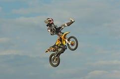 丹尼斯garhammer摩托车越野赛 免版税库存图片
