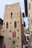 丹特博物馆在佛罗伦萨,意大利 库存照片
