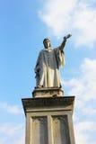 丹特的纪念碑 库存照片