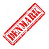 丹麦不加考虑表赞同的人 免版税库存图片