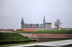 丹麦克伦堡城堡 免版税库存照片
