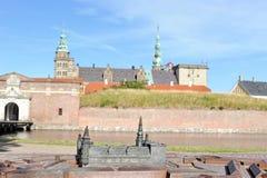 丹麦克伦堡 免版税图库摄影