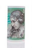 丹麦冠。丹麦的货币 免版税库存照片
