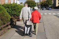 丹麦前辈和健康 免版税库存图片
