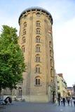 丹麦哥本哈根圆的塔 库存图片
