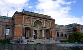 丹麦国家肖像馆 免版税库存照片