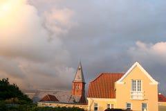 丹麦房子 库存图片