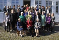 丹麦最初MINISTER_WOMEN天庆祝 图库摄影