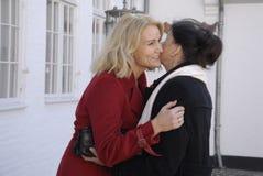 丹麦最初MINISTER_WOMEN天庆祝 免版税图库摄影