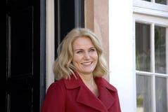 丹麦最初MINISTER_WOMEN天庆祝 库存图片