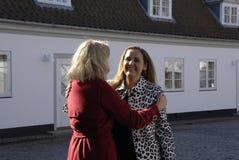 丹麦最初MINISTER_WOMEN天庆祝 免版税库存照片