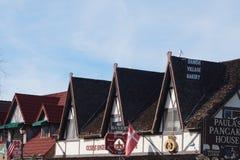 丹麦村庄加利福尼亚Solvang  免版税库存照片