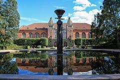 丹麦犹太博物馆在哥本哈根,丹麦-丹斯克Jødisk谬斯 免版税库存图片