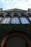 丹麦犹太博物馆的特写镜头-丹斯克Jødisk博物馆,  免版税库存照片