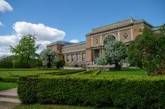 丹麦的全国美术画廊 图库摄影