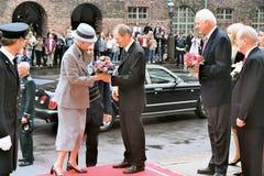 丹麦皇家到达议会开幕式 库存图片