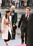 丹麦皇家到达议会开幕式 图库摄影