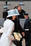 丹麦皇家到达议会开幕式 免版税库存照片