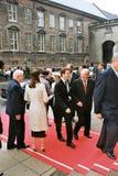 丹麦皇家到达议会开幕式 库存照片
