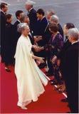丹麦皇家被招呼在CHRISTIANSBORG 库存照片
