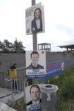 丹麦竞选海报 库存图片