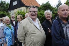 丹麦老年人 免版税库存图片