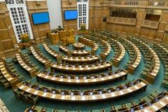 丹麦议会在哥本哈根 免版税库存图片