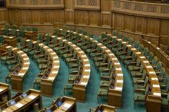 丹麦议会在哥本哈根 免版税库存照片