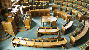 丹麦议会 免版税图库摄影