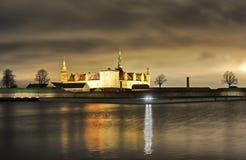 丹麦赫尔新哥,克伦堡城堡 免版税图库摄影