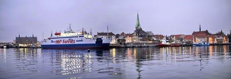 丹麦赫尔新哥 免版税库存照片