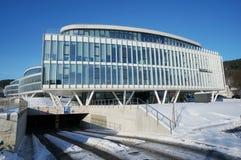 丹麦银行新的办公室 库存照片
