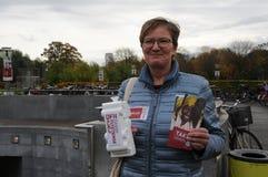 丹麦难民帮助的汇集 库存图片