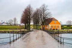丹麦风景 免版税图库摄影