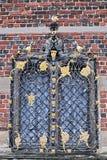 丹麦,菲特列堡城堡在希勒勒 免版税库存图片