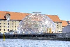 丹麦 哥本哈根 视觉圆顶 免版税图库摄影