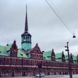 丹麦建筑学 免版税图库摄影