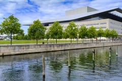 """丹麦-西兰地区-哥本哈根†""""现代大厦  库存图片"""