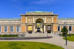 丹麦-西兰地区-哥本哈根市中心-全国Gal 图库摄影
