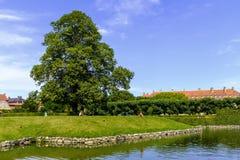 丹麦-西兰地区-哥本哈根市中心-全景vi 库存图片