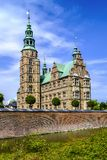 丹麦-西兰地区-哥本哈根市中心-全景vi 图库摄影