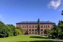 丹麦-西兰地区-哥本哈根市中心-地质M 图库摄影