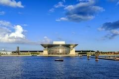丹麦-西兰地区-哥本哈根- C的现代大厦 库存图片