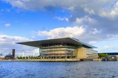 丹麦-西兰地区-哥本哈根- C的现代大厦 免版税库存图片