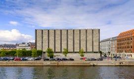 丹麦-西兰地区-哥本哈根- ci的全景 库存图片