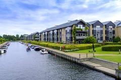 丹麦-西兰地区-哥本哈根- co的全景 免版税图库摄影